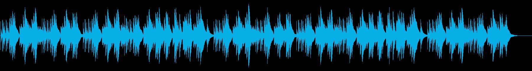 エリーゼのために 18弁オルゴールの再生済みの波形