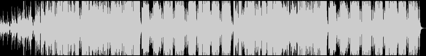 和風 ダーク ヒップホップの未再生の波形