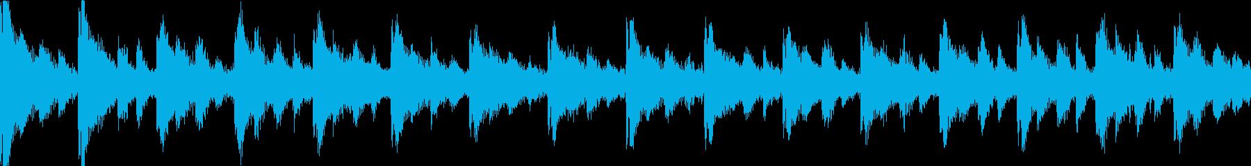【ループE】かわいい感じのゆるやかテクノの再生済みの波形