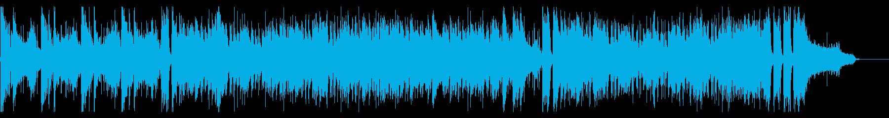 ミステリアスで壮大なメロディーの再生済みの波形