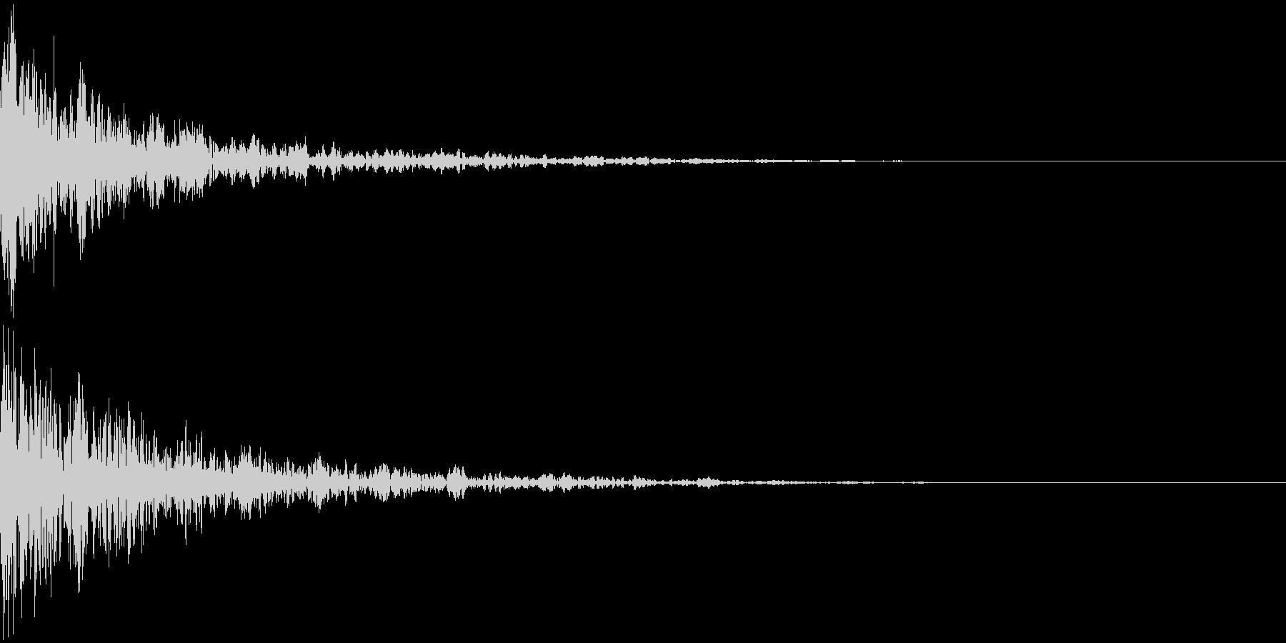 ドーン-47-2(インパクト音)の未再生の波形