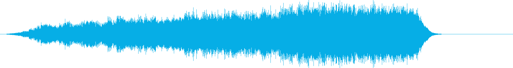 音楽ロゴ;神秘的なシンセサイザーオ...の再生済みの波形