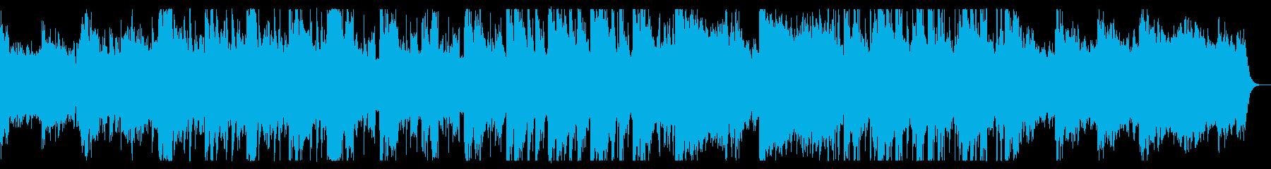 アンニュイなイメージのダウンビートの再生済みの波形