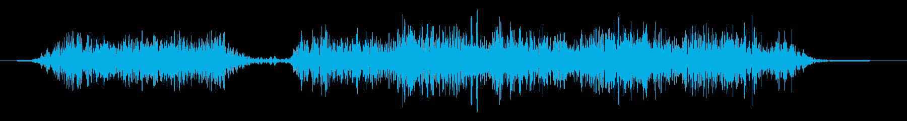 火炎放射器 ミディアムヘビーマルチ01の再生済みの波形