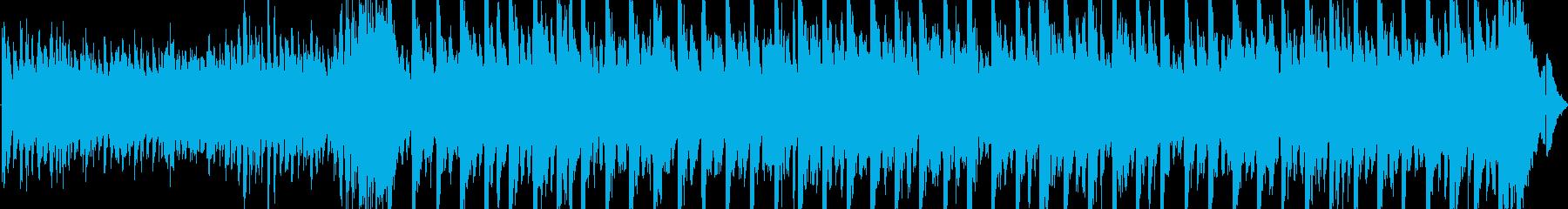 エレクトロ混じりの4分打ちロックテイストの再生済みの波形