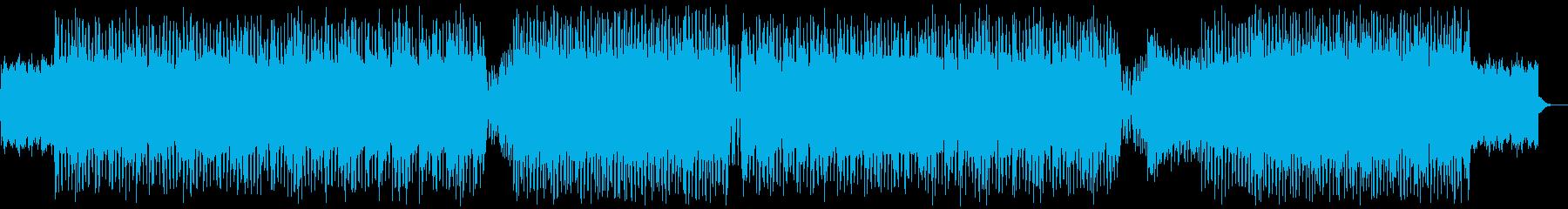 幻想的なエレクトロの再生済みの波形