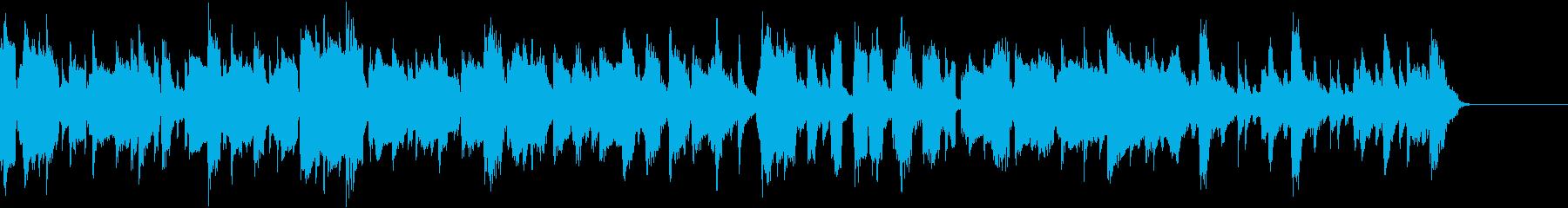アイリッシュフィドルによるカントリー曲の再生済みの波形