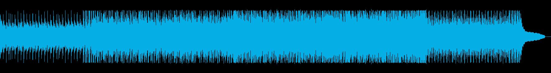 爽やかなブラジル系サンバミュージック。の再生済みの波形