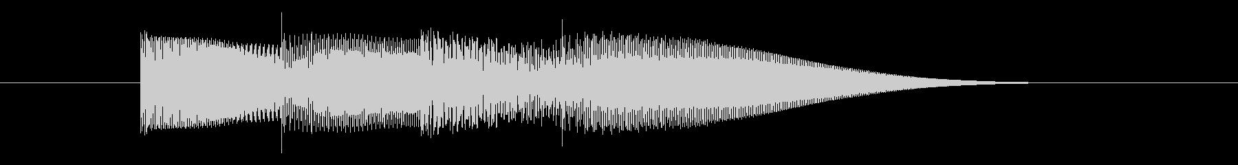 ピコピコ(コンピューター系電子音)の未再生の波形
