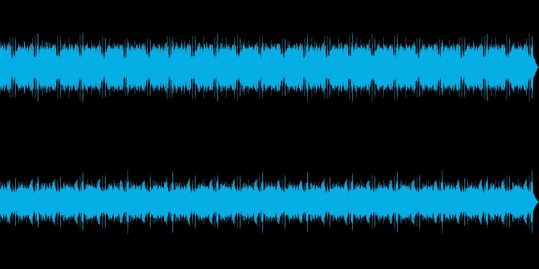 YouTuberの動画BGMの再生済みの波形