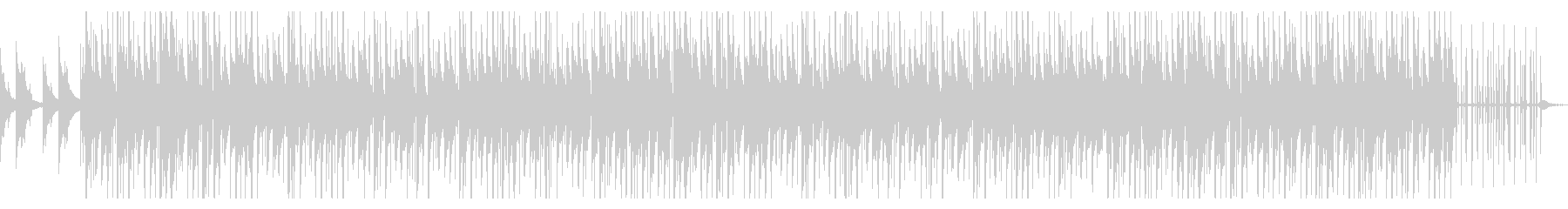 CM・映像等に おしゃれなヒップホップの未再生の波形
