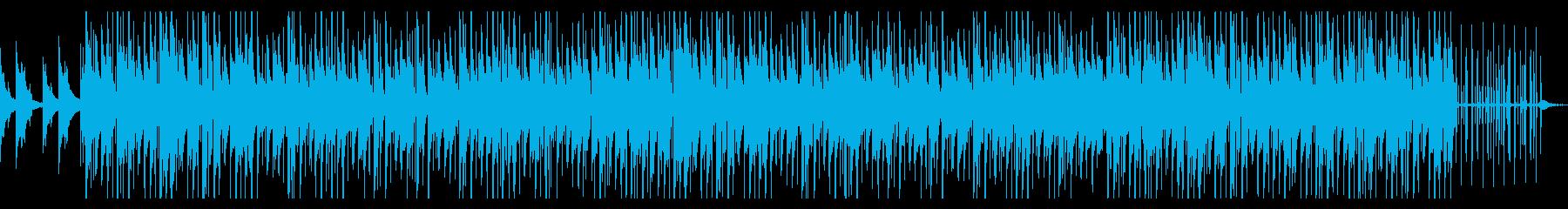 CM・映像等に おしゃれなヒップホップの再生済みの波形
