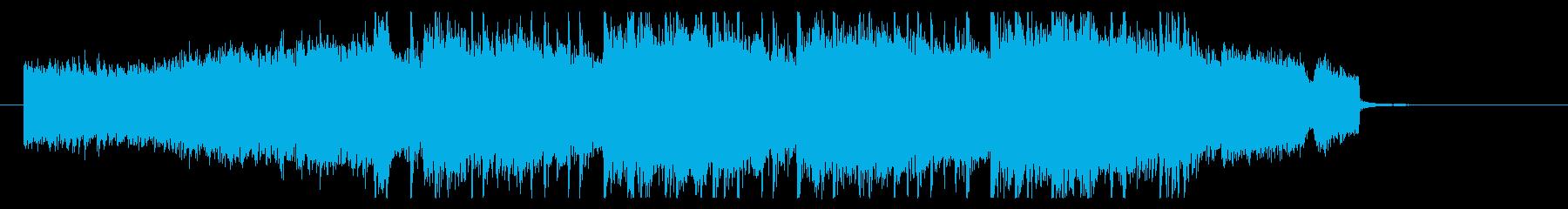 朝 目覚め 前向き疾走ポップジングルの再生済みの波形