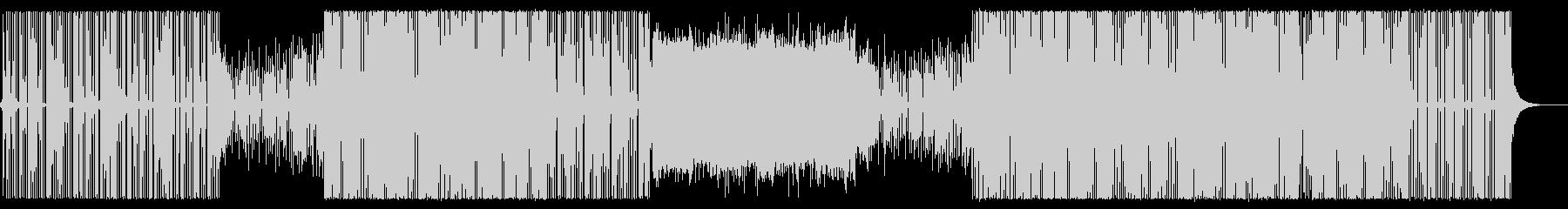 無機質なエレクトロ/ハウスミュージック/の未再生の波形