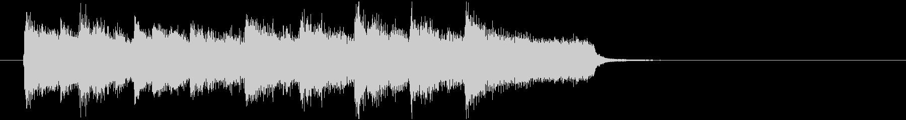 神秘的な森の中のようなBGM_ループ用4の未再生の波形