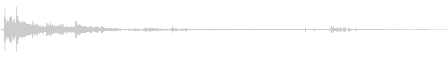 大規模なサンダークラック、バックグ...の未再生の波形