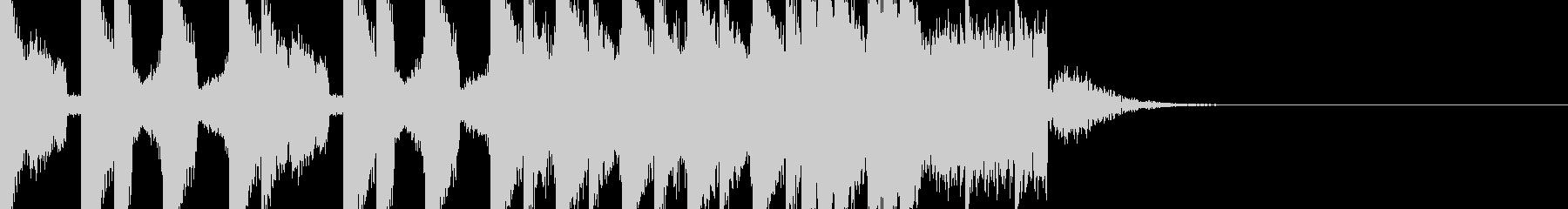 BPM128EDMビルドアップです。の未再生の波形