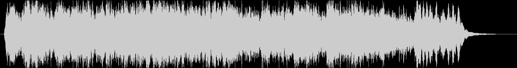 荘厳で本格的な混声四部のコラールの未再生の波形