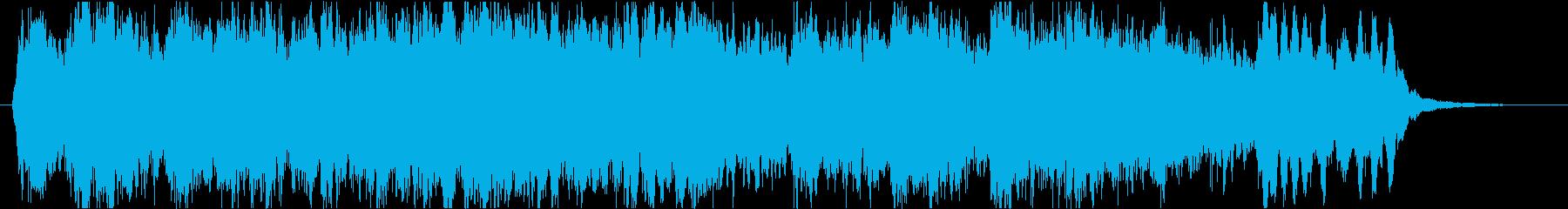 荘厳で本格的な混声四部のコラールの再生済みの波形