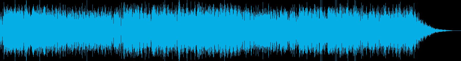 さわやかなポップ系インストルメンタルの再生済みの波形