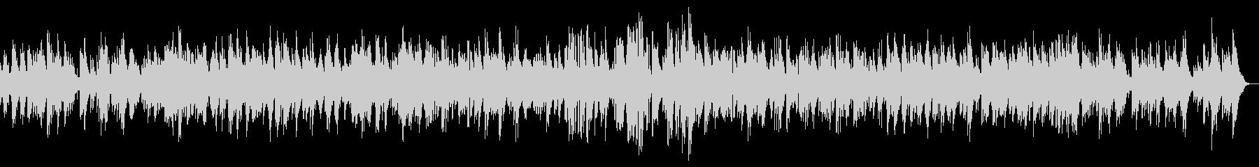 ピアノのイージーリスニングの未再生の波形
