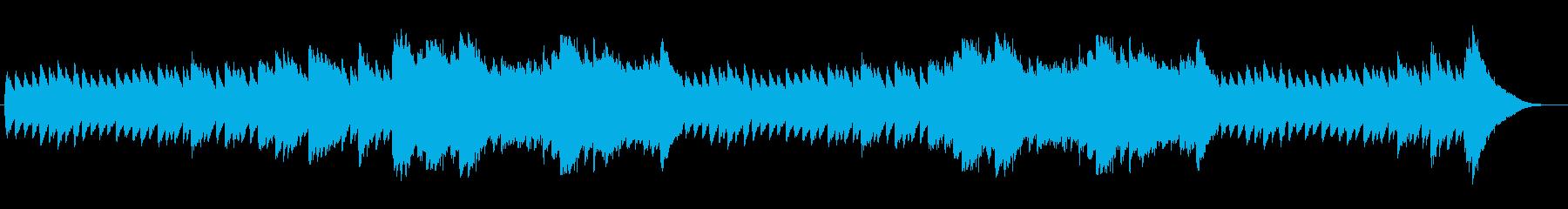 アップテッポで悲しい音楽の再生済みの波形