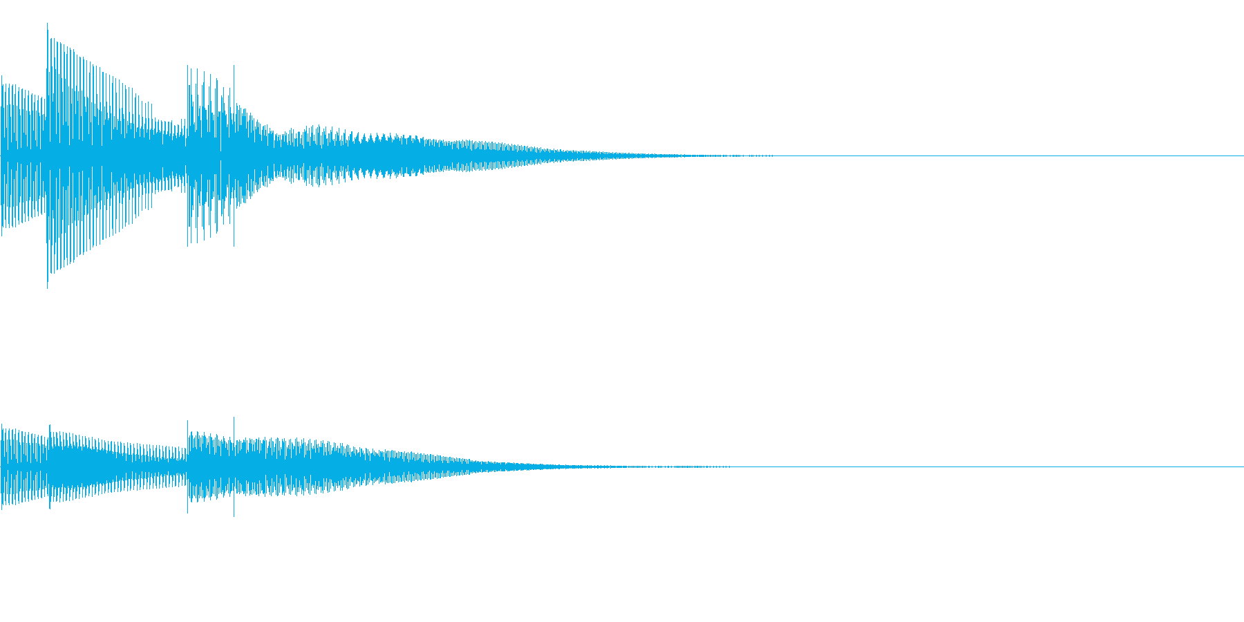 ピカッ(クリック_選択決定_03)の再生済みの波形