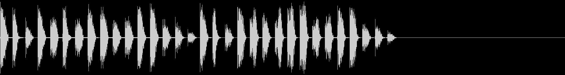 クイックディストーションジャーグロ...の未再生の波形