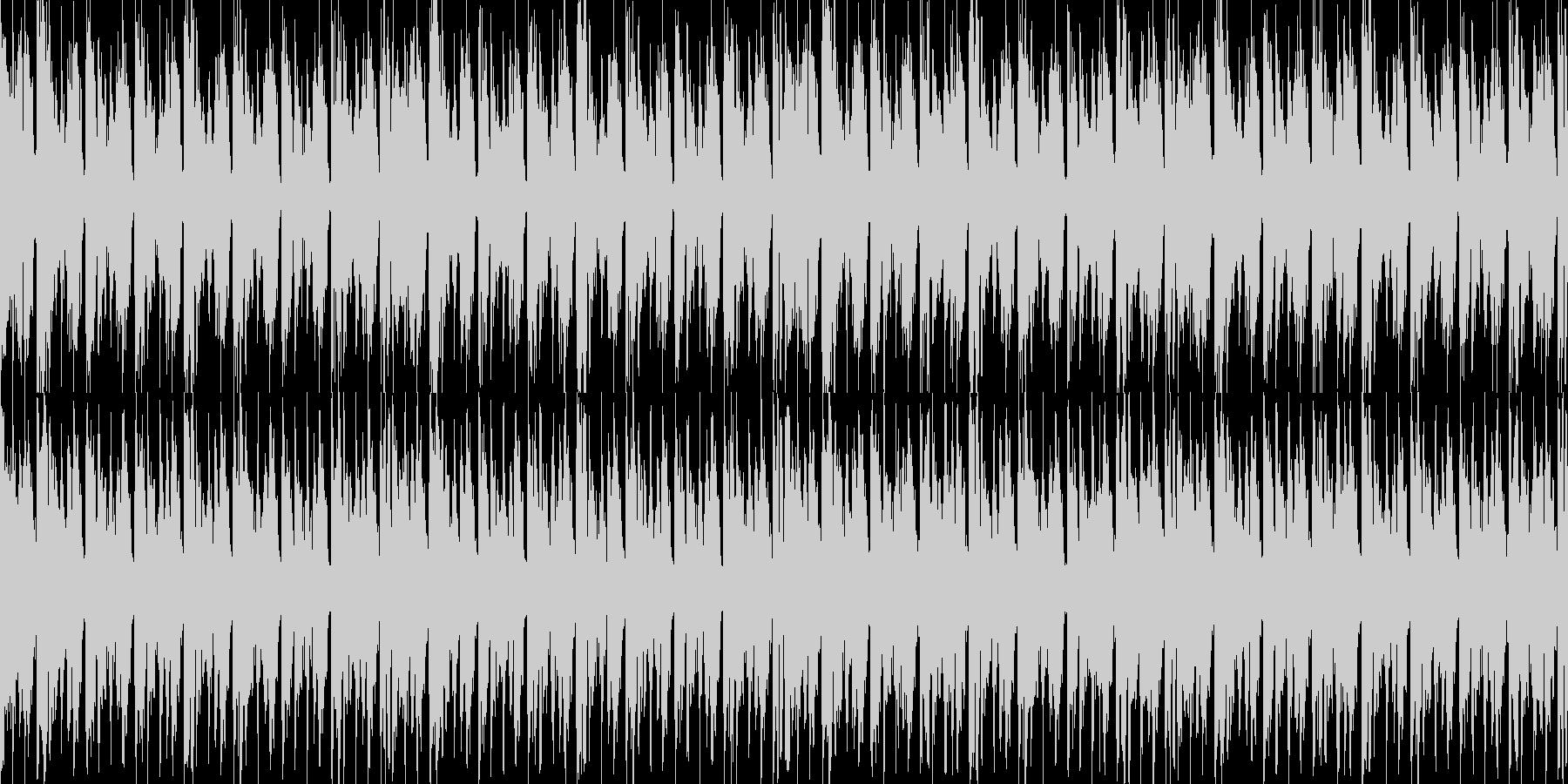 アンビエント、進歩的な技術/ハウス...の未再生の波形