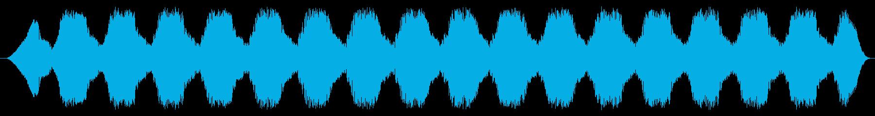 ディープスイープトーン警告スペース...の再生済みの波形