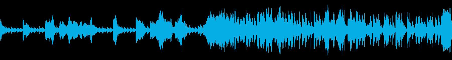 ループ:冒険やサスペンスに(フルート)の再生済みの波形