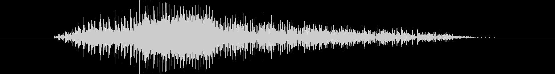 鳴き声 男性コンバットヒットハード15の未再生の波形