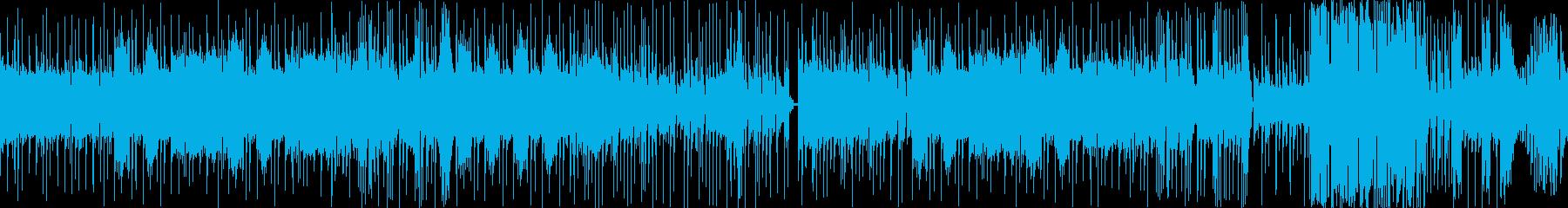 タイト、キメキメ、グイグイのハードロックの再生済みの波形