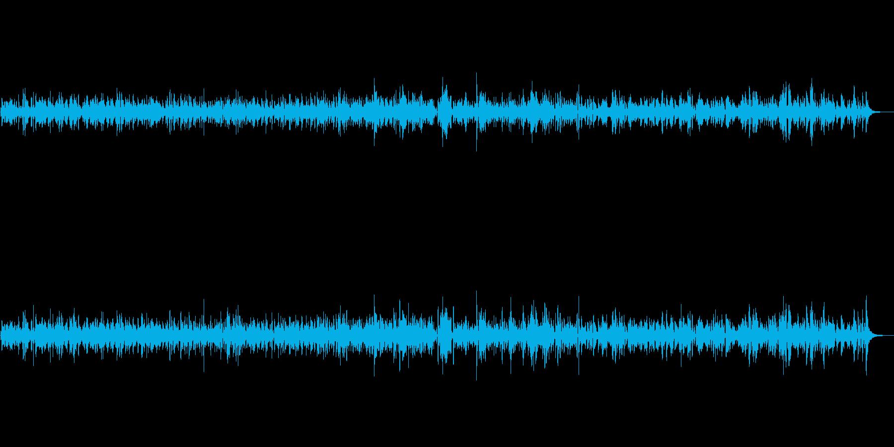 JAZZ|温かく心地よいフルートBGMの再生済みの波形