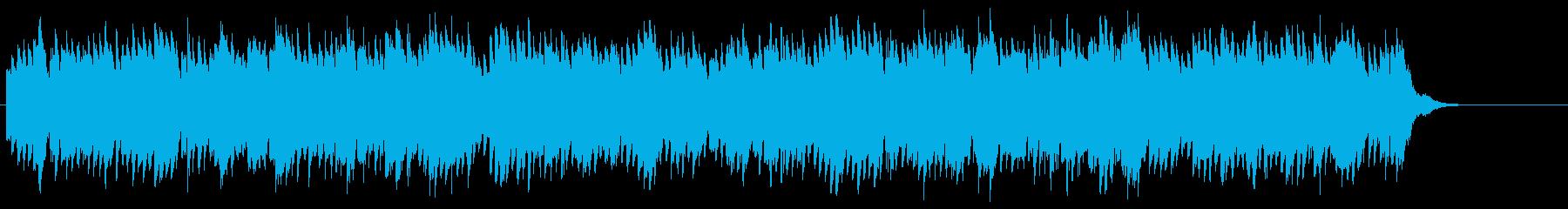 少し切ない雰囲気のサウンドの再生済みの波形