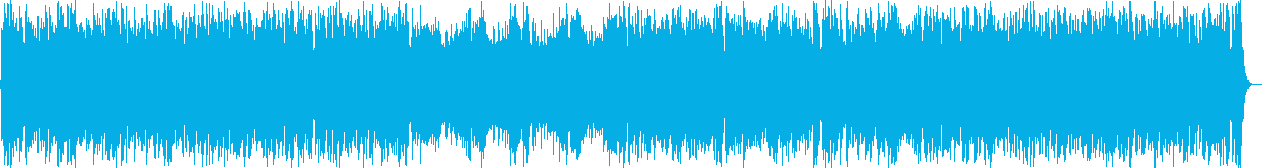 運動会定番曲のシンフォニックメタル編曲の再生済みの波形