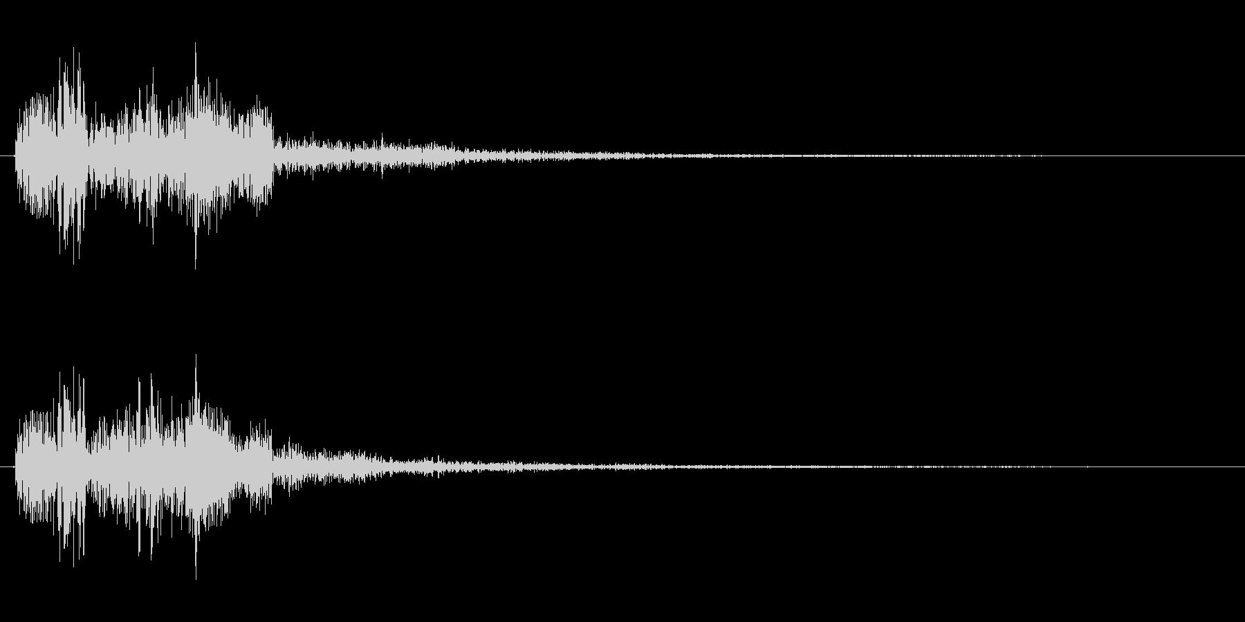 ドゥルルリ 2の未再生の波形