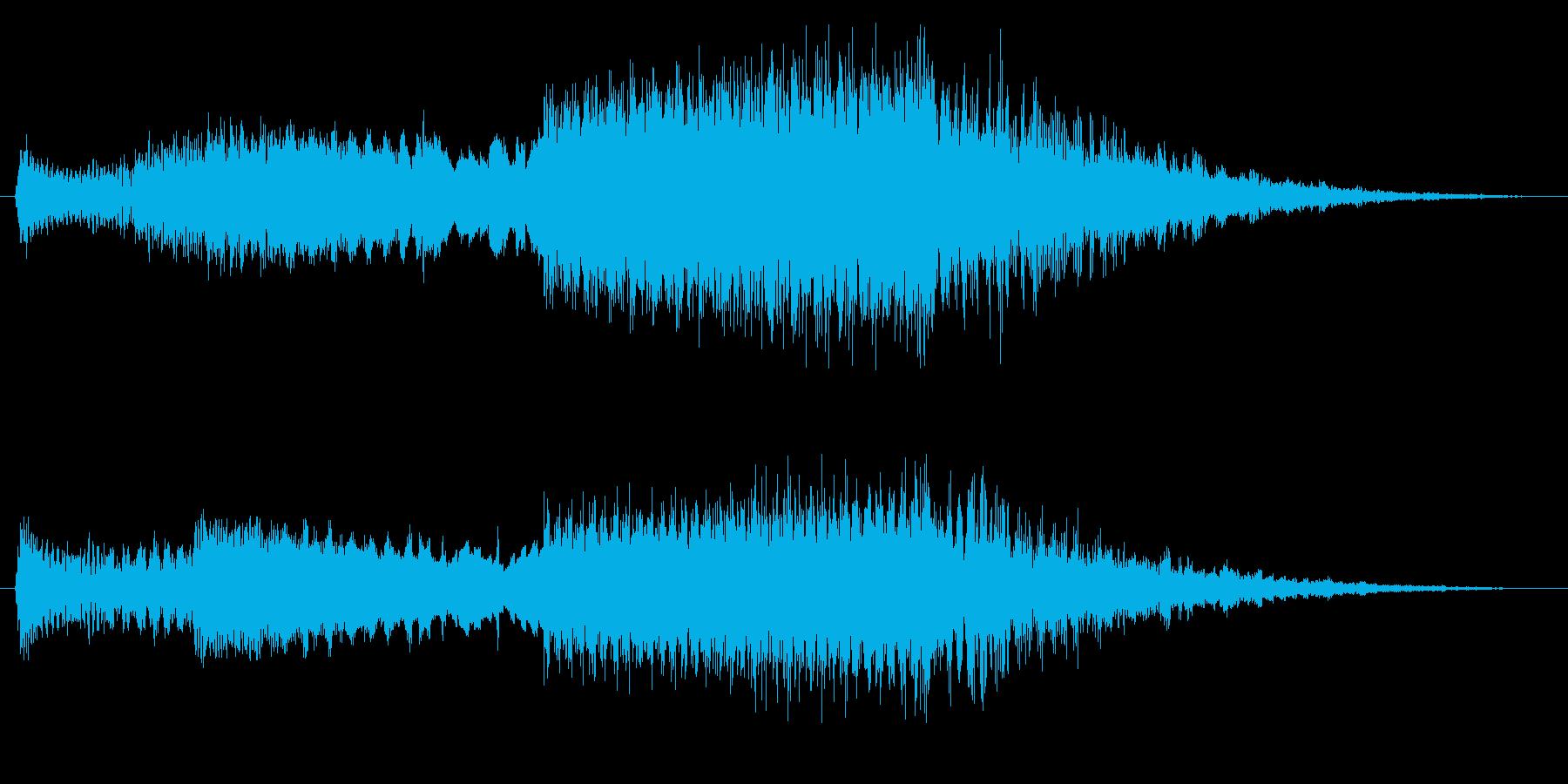 FI デバイス ライズフォール01の再生済みの波形