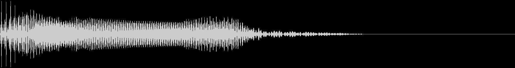 ベース/ドゥーン/ネックスライド/A11の未再生の波形