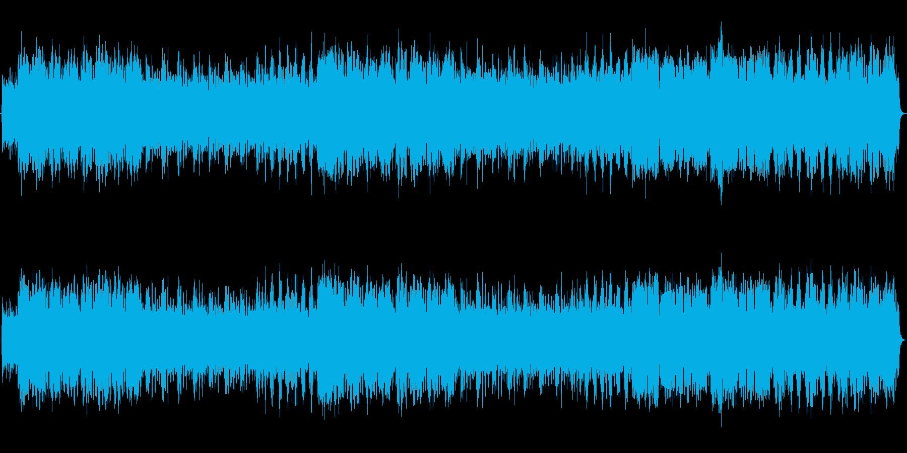 明るく軽快 ほのぼの カントリー風の再生済みの波形