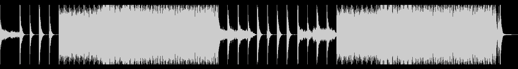 和太鼓中心の迫りくるエレクトロベースの未再生の波形