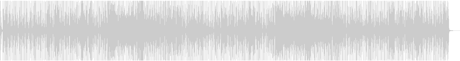 Joyful and light reggae's unreproduced waveform