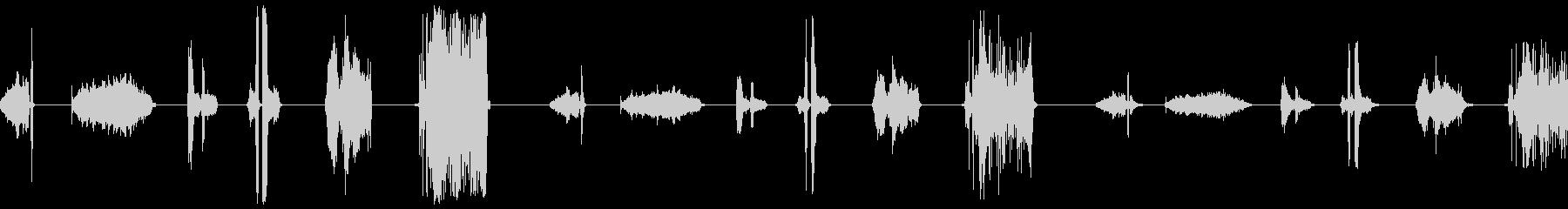 ローププル、5バージョンX 3ルー...の未再生の波形