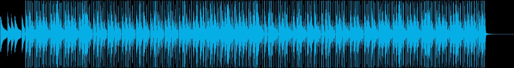 エモい緩い落ち着く穏やかHIPHOPの再生済みの波形