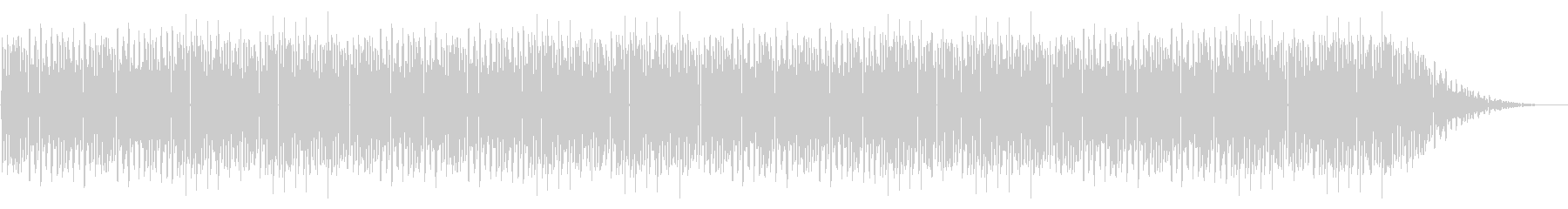 GB風アクションゲームのボス曲の未再生の波形