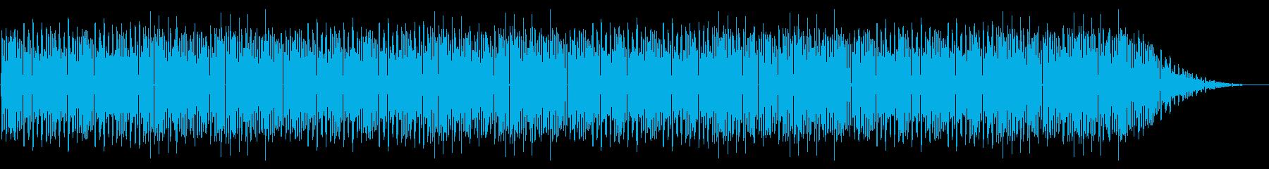 GB風アクションゲームのボス曲の再生済みの波形