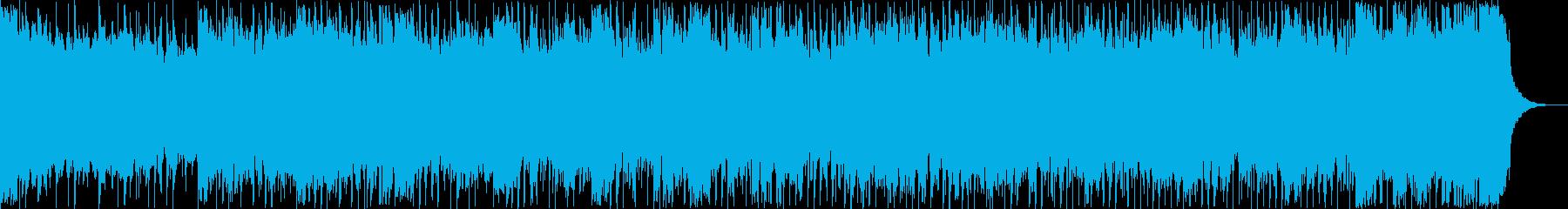 勇壮、スロー、ダークなメタルチューンの再生済みの波形