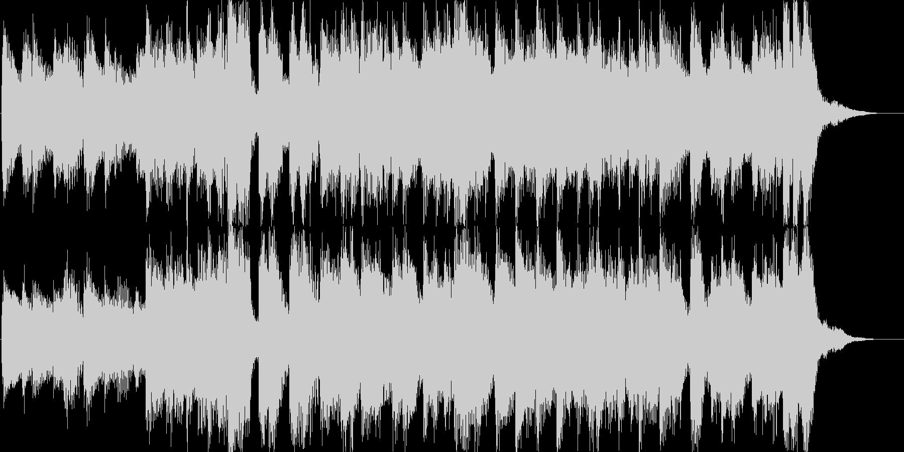 ピアノロックオーケストラ希望夢CM光の未再生の波形