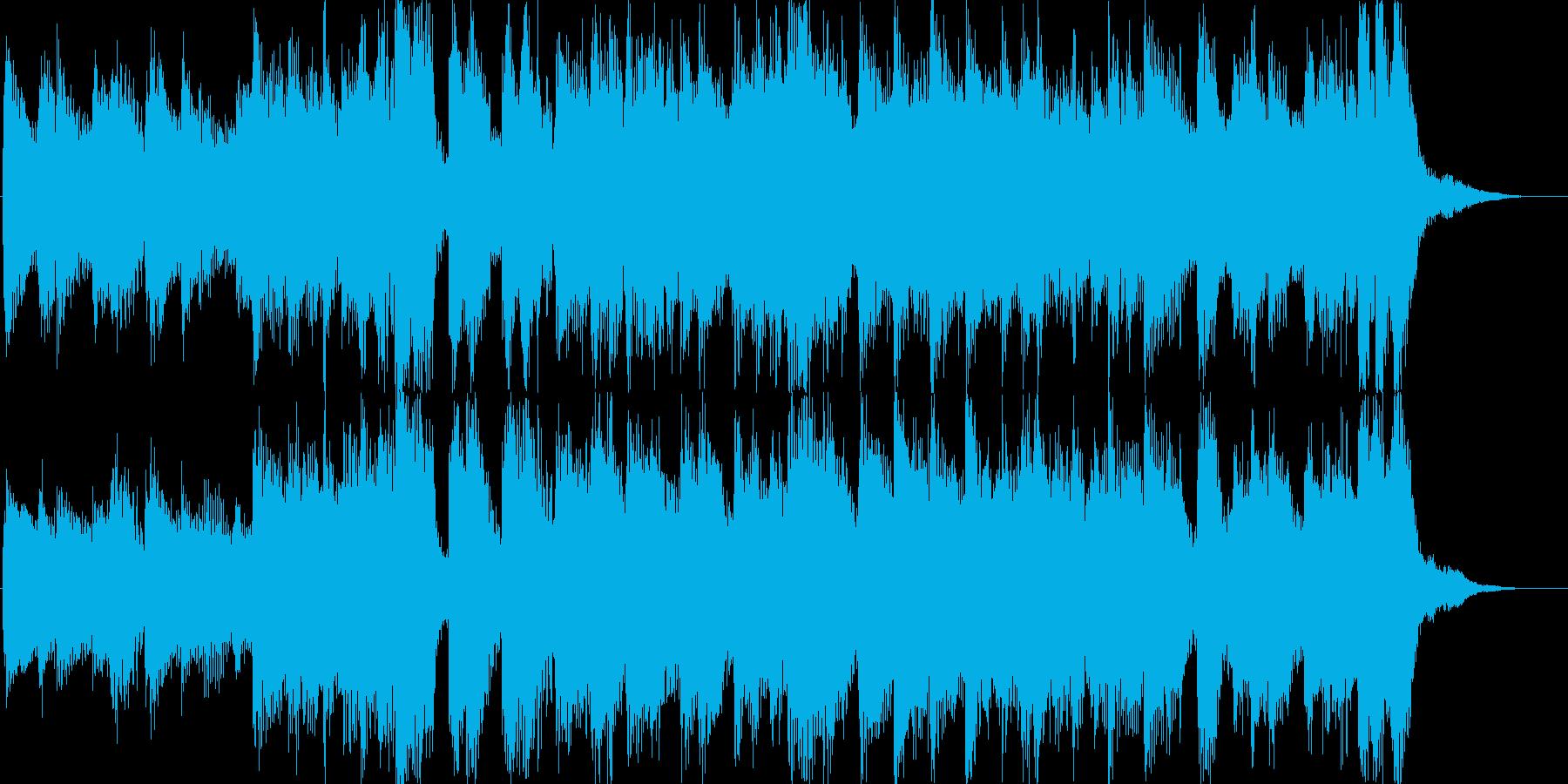 ピアノロックオーケストラ希望夢CM光の再生済みの波形