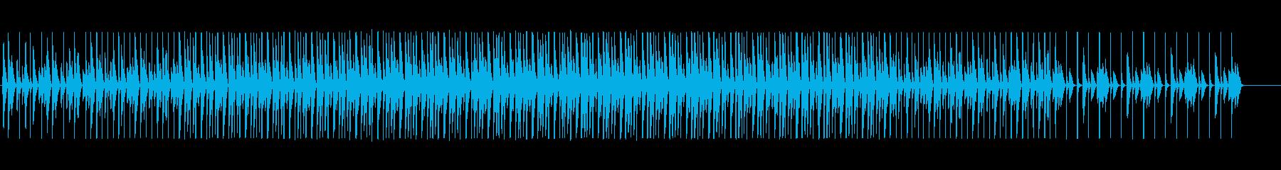 手拍子とピッチカートのウキウキBGM 2の再生済みの波形